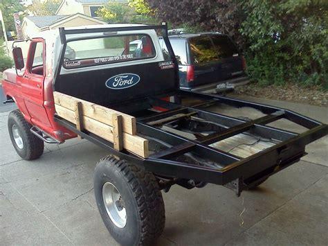 i want a custom flatbed for my truck fabricators look