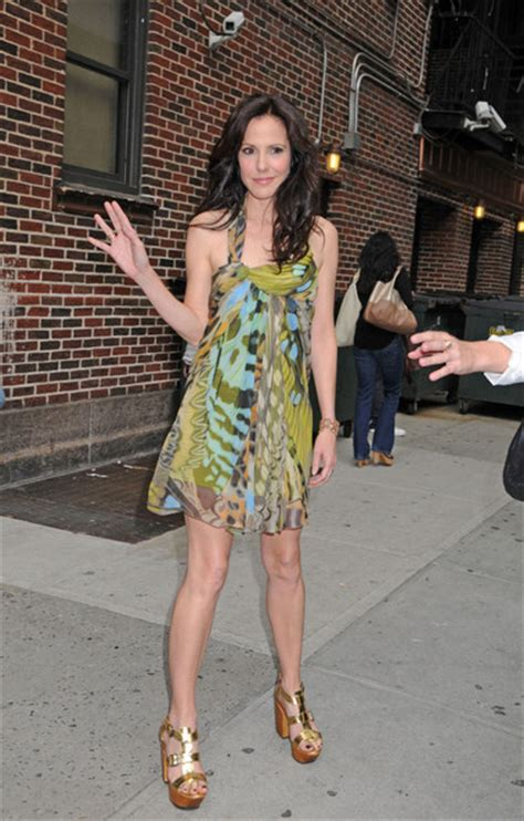 mary louise parker bathtub mary louise parker on letterman 2012