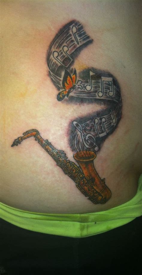 my alto saxophone tattoo love music tattoos pinterest