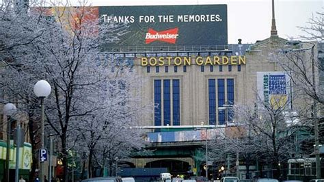 Boston Gardens by The Building That Made Us Water Media