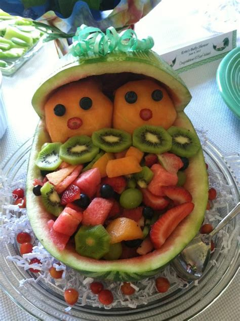 baby shower watermelon bassinet what do y all eat daily girlsaskguys