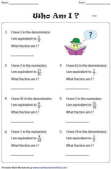 what number am i on the section 8 waiting list equivalent fraction worksheets