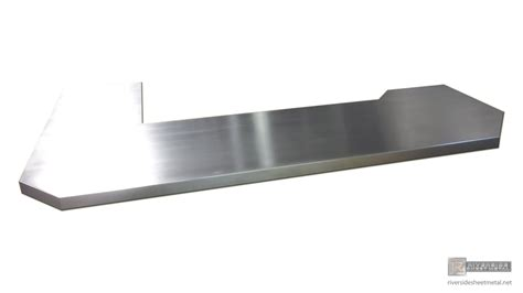 Zinc Bar Top by Zinc Bar Top L Shaped With 45 Degree Corner