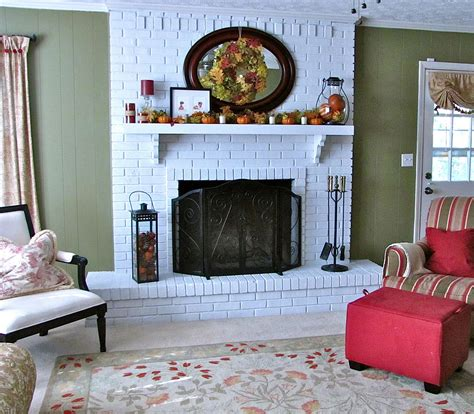 How To Make a Quick Brick Fireplace Makeover : KVRiver.com