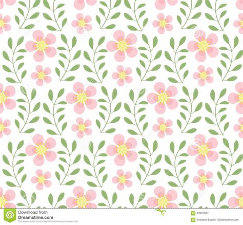 floral pattern repeat vector floral seamless pattern flowers repeating texture