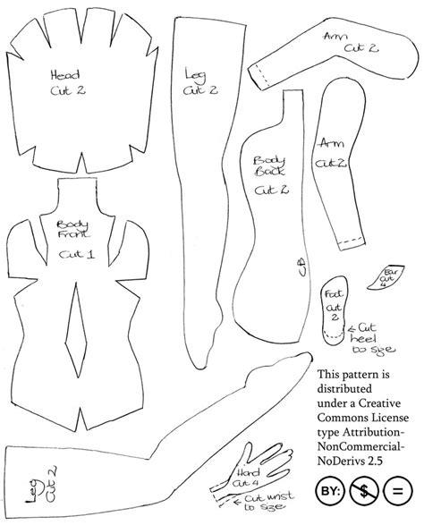 free pattern felt doll felt fairy doll pattern by impetere on deviantart