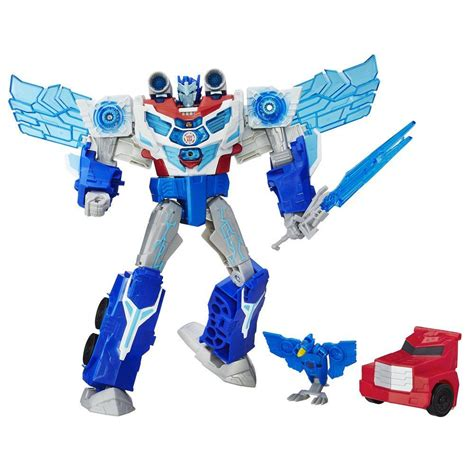 Robot Transformers Optimus Prime Transformers Robots In Disguise Power Surge Optimus Prime