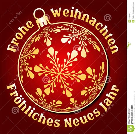 german merry christmas  happy  year background stock vector illustration  celebration