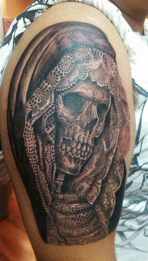 santa muerte tattoos ruben chicago ink piercing