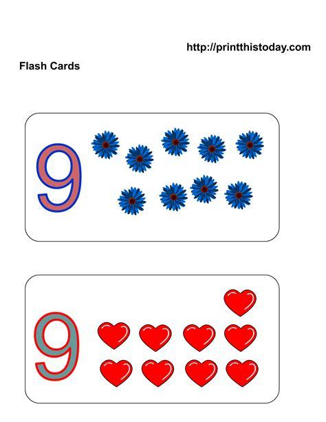 flash card maker for kindergarten best photos of number flashcards 1 30 printable