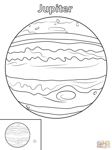 printable jupiter images jupiter planet coloring page free printable coloring pages