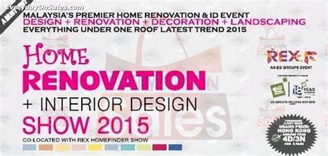 home interior design renovation expo home renovation interior design show malaysia 2015