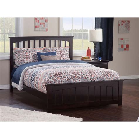twin xl beds furniture atlantic furniture mission twin xl spindle bed in espresso ar8716031