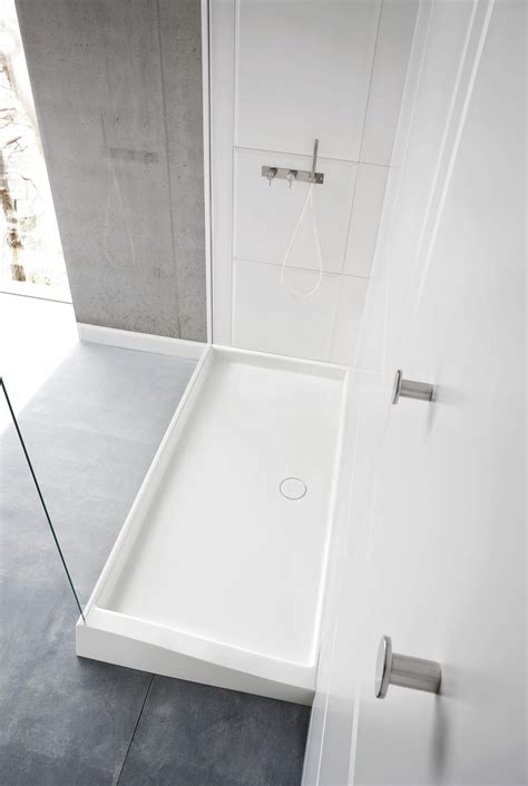 Corian Shower Enclosure Warp Shower Tray With Enclosure Shower Trays From Rexa