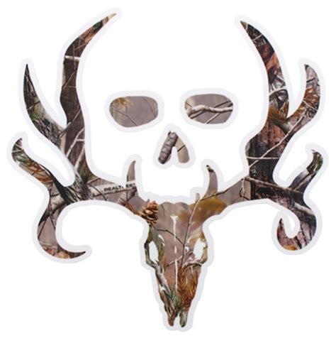 Bone Collector Logo Flat Decal Camouflage Qty 1 Spg Camo Bone Collector