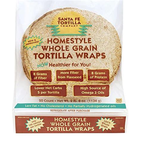 whole grain 100 calorie wrap santa fe tortilla company home style whole grain wraps