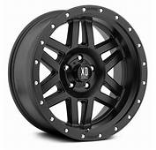 XD SERIES&174 XD128 MACHETE Wheels  Satin Black Rims