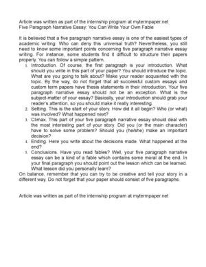 Three Page Essay How Many Words by Calam 233 O Five Paragraph Narrative Essay You Can Write Your Own Fable