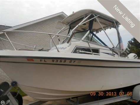 second hand grady white boats grady white 204c overnighter in florida power boats used