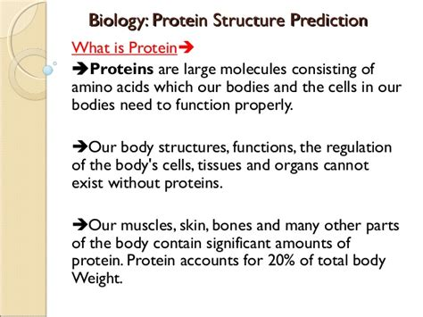 protein biology biology protein structure in cloud computing