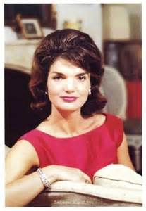 jackie kennedy jackie kennedy vintage stationary card color photo