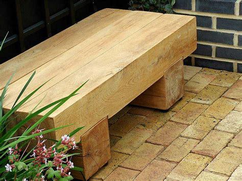 simple minimalist garden bench design   wooden
