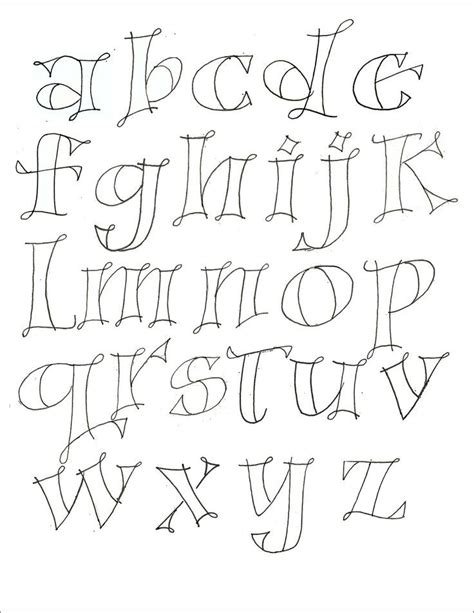 Drawing Lettering Templates