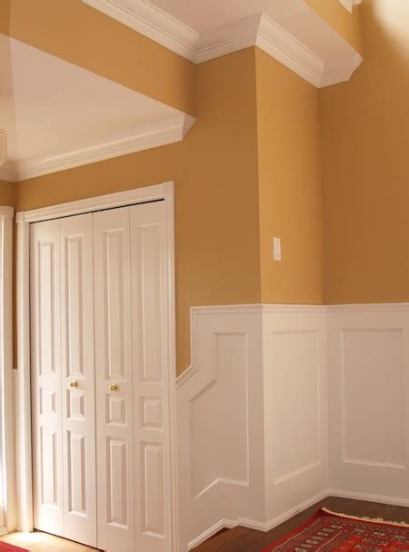 Wainscoting Panel Kits by Wainscoting Kit With Recessed Panels I Elite Trimworks