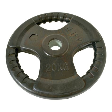 Rubber Plate Grip 3cm 20kg 20kg olympic weight plate accessories