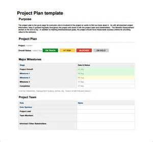 Template For Plan by Project Plan Template 23 Free Word Excel Pdf Format