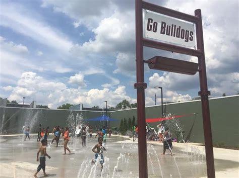 Richard Showers Center by City Opens Bulldog Themed Splash Park At Dr Richard Showers Recreation Center City Of Huntsville