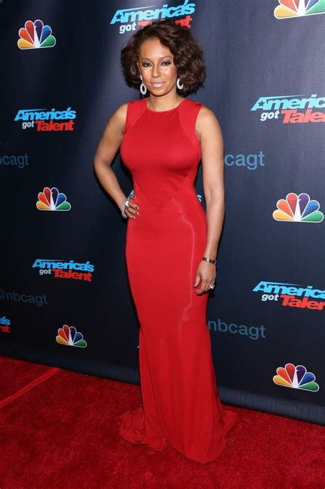 Catwalk To Carpet Melanie Brown In Rm By Roland Mouret by Melanie Brown Photos Photos Agt Hit The
