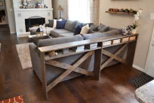 Diy sofa table in 4 creative ideas using old materials
