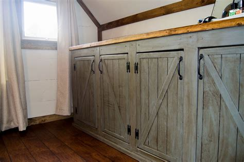 diy rustic kitchen cabinets ana white scrapped the sliding barn doors rustic