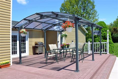 carport gazebo metal canopy carport pergola garage vehicle shelter gazebo