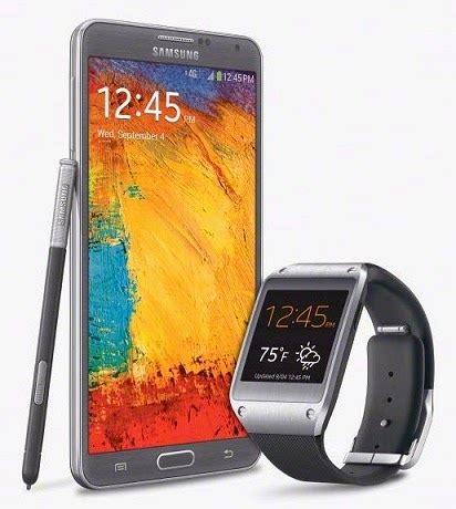 Samsung Ace 3 Harga N Spesifikasi samsung galaxy note 3 gear spesifikasi dan harga harga