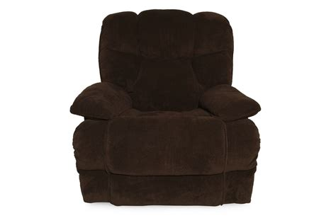 lane massage recliner lane luck chocolate massage recliner mathis brothers