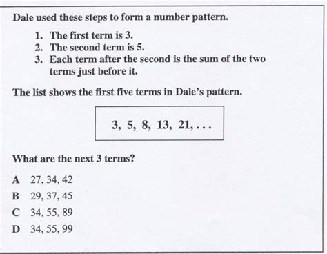 pattern questions for grade 9 602stilwell 6th grade math benchmark 1 proprofs quiz