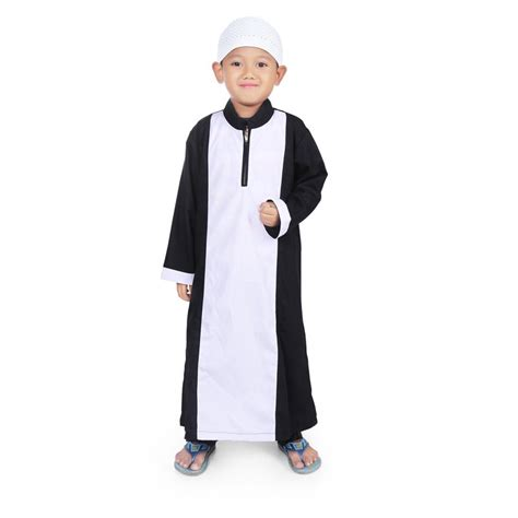 Gamis Anak Hitam Putih Jual Baju Anak Laki Laki Bajuyuli