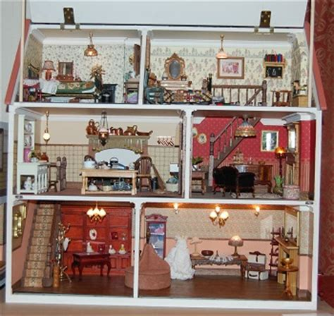old dolls houses blog magpies dolls house old and new