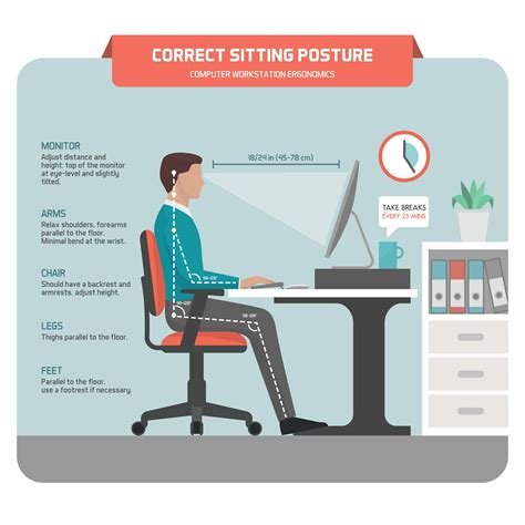 how to keep posture at a desk sit well work well live well