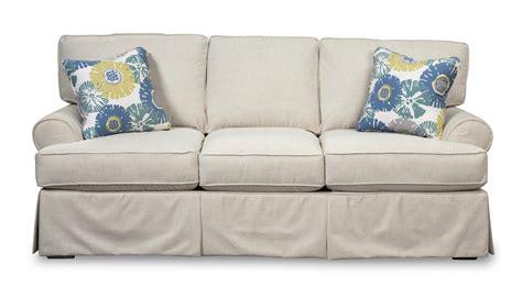craftmaster sleeper sofa craftmaster 952100 skirted sleeper sofa with faux