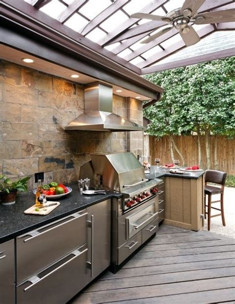 Backyard Bbq With Al Roker Best 25 Outdoor Barbeque Area Ideas On
