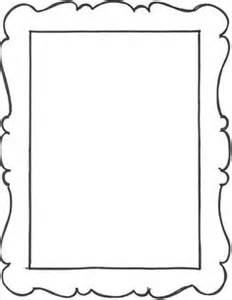 frame outline template scalloped frames templates clipart free clipart