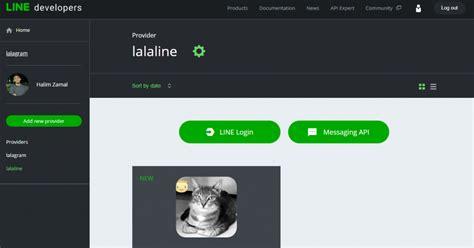 membuat akun bot line create line chat bot and messaging api use php simple