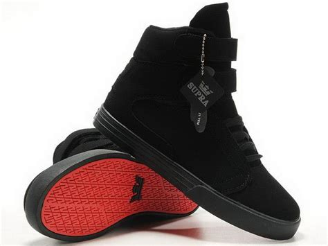 tk society mens high top black suede shoes the supra