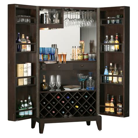 wine cabinets for home howard miller barolo home bar and wine cabinet 695154