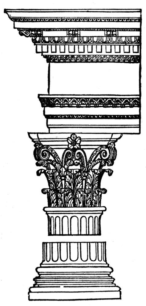 corinthian order clipart