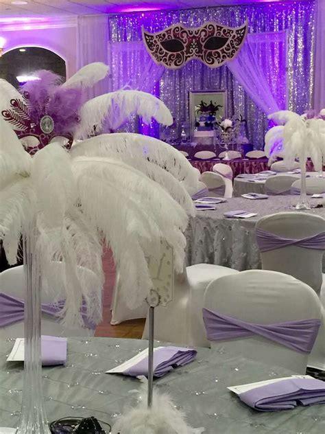 Masquerade Quinceañera Party Ideas   Photo 4 of 21   Catch