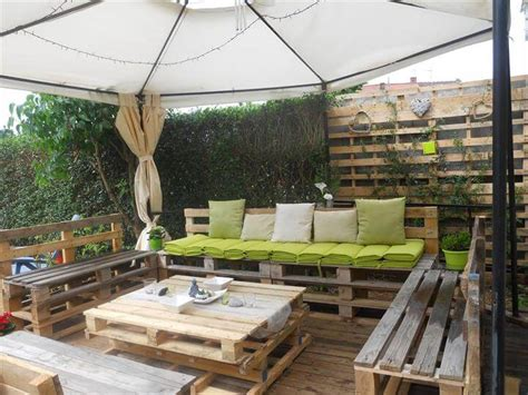 patio furniture out of pallets diy pallet patio furniture pallet deck